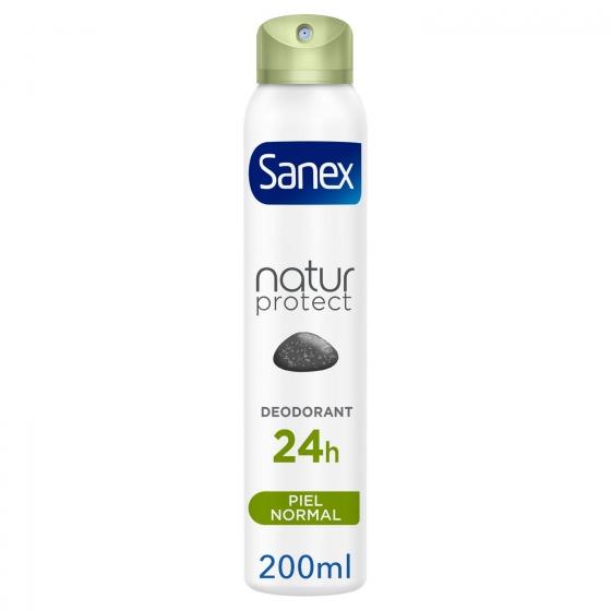 Desodorante en spray Natur Protect Piel normal Sanex 200 ml.