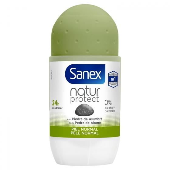 Desodorante roll-on Natur Protect Piel normal Sanex 45 ml. - 1