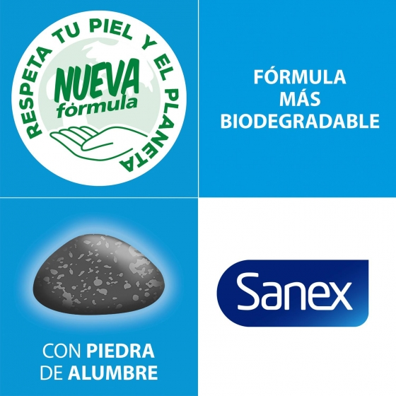 Desodorante roll-on Natur Protect Piel sensible Sanex 45 ml. - 1
