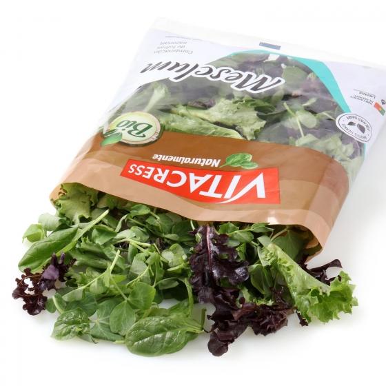 Ensalada Mesclum ecológica Vitacress 100 g