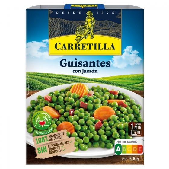 Guisantes con jamón Carretilla sin gluten 240 g.