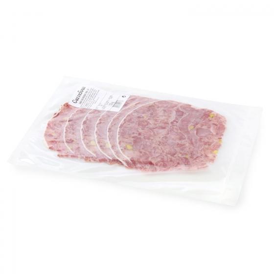 Cabeza de cerdo ibérica con pistachos Frial al corte 250 g aprox - 1
