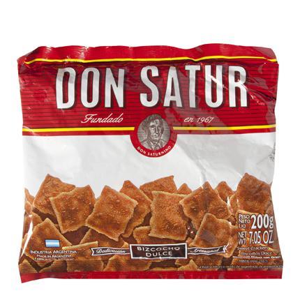 Bizcocho dulces Don Satur 200 g.