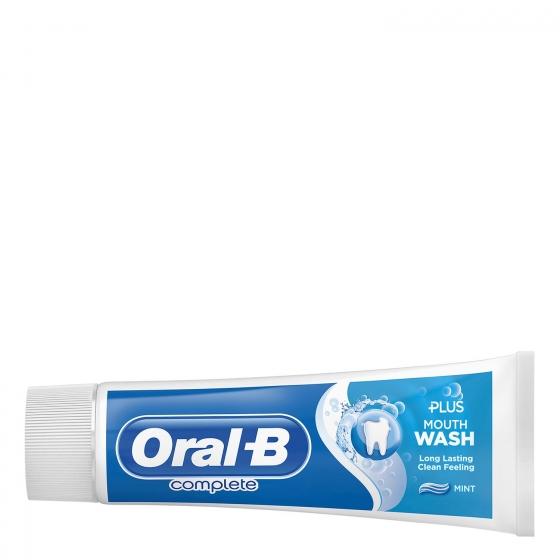 Dentífrico Complete con enjuague bucal + blanqueante Oral-B 75 ml. - 3