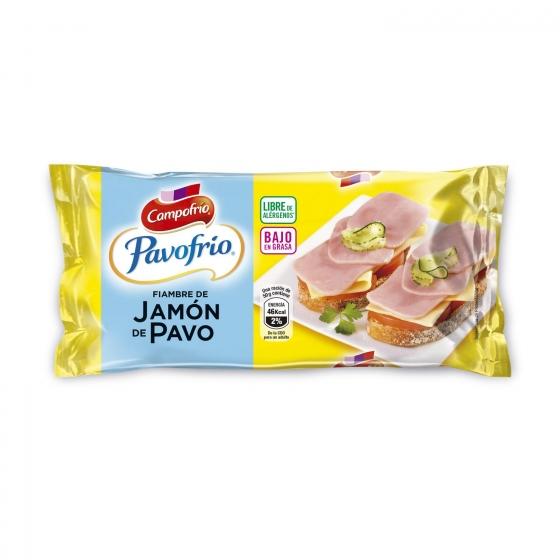 Jamón pavo Mini Campofrío Pavofrío 380 g.