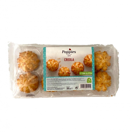Galletas Creola Popples sin gluten  300 g.