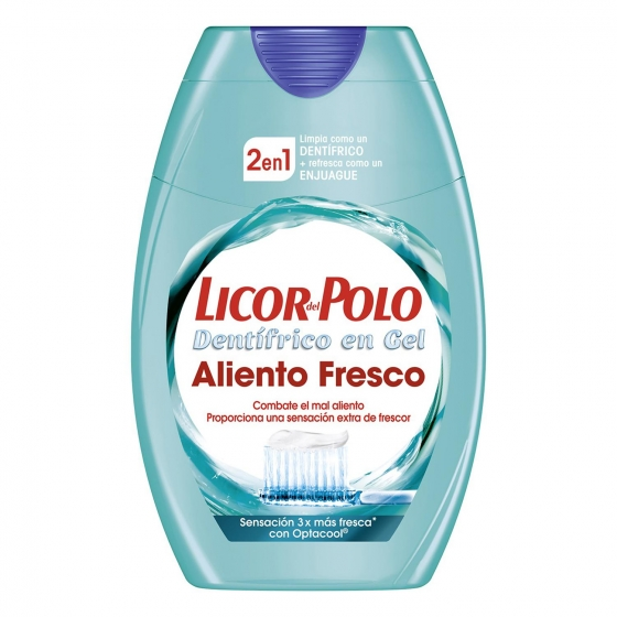 Dentífrico 2 en 1 Aliento Fresco Licor del Polo 75 ml.