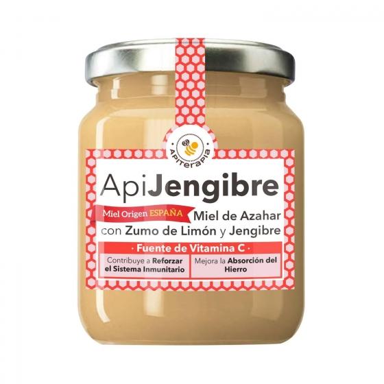 Miel de azahar con crema de jengibre y limón Primo Mendoza 280 g