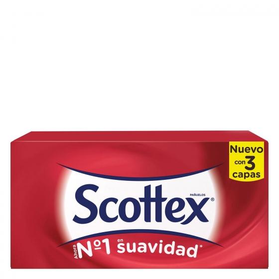 Caja de pañuelos 3 capas Scottex 70 ud. - 3