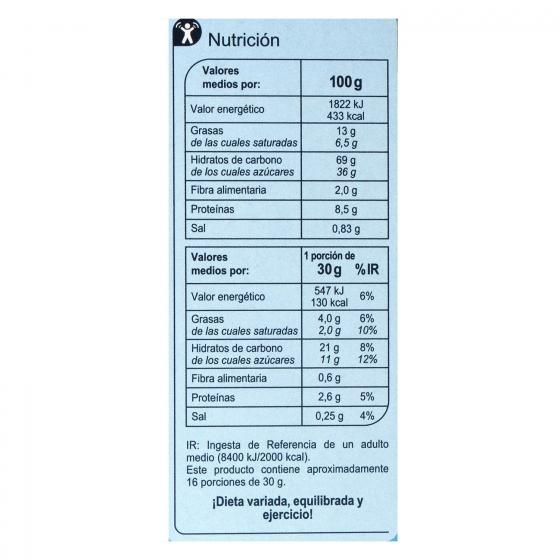 Cereales de leche Carrefour 500 g. - 3