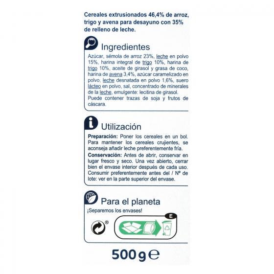 Cereales de leche Carrefour 500 g. - 4