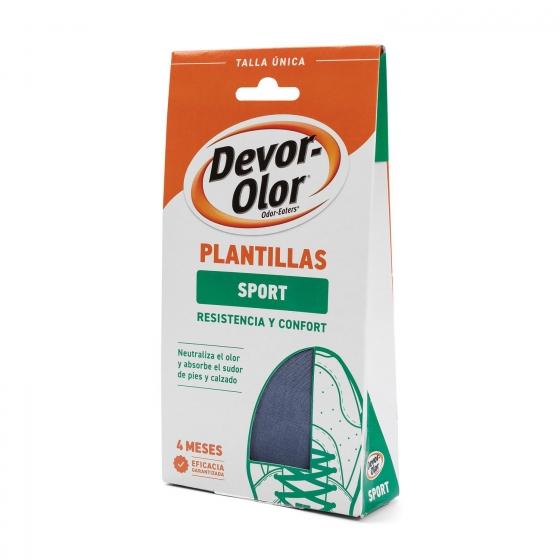Plantillas pies gran resistencia y confort Devor-Olor 1 ud.