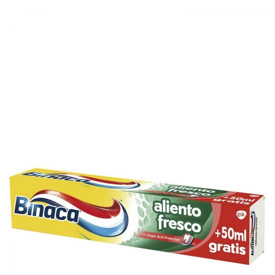 Dentífrico Aliento Fresco Binaca 75 ml.
