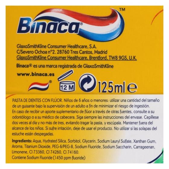 Dentífrico Aliento Fresco Binaca 75 ml. - 3