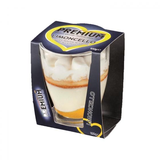 Copa mousse de limón Premium Limocello100 g.