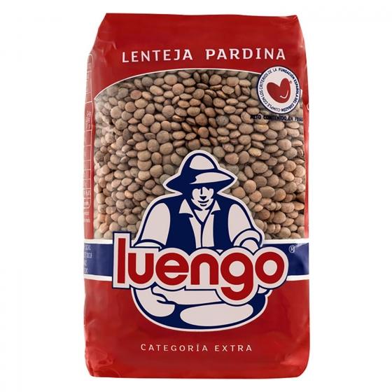 Lenteja pardina categoría extra Luengo 500 g.