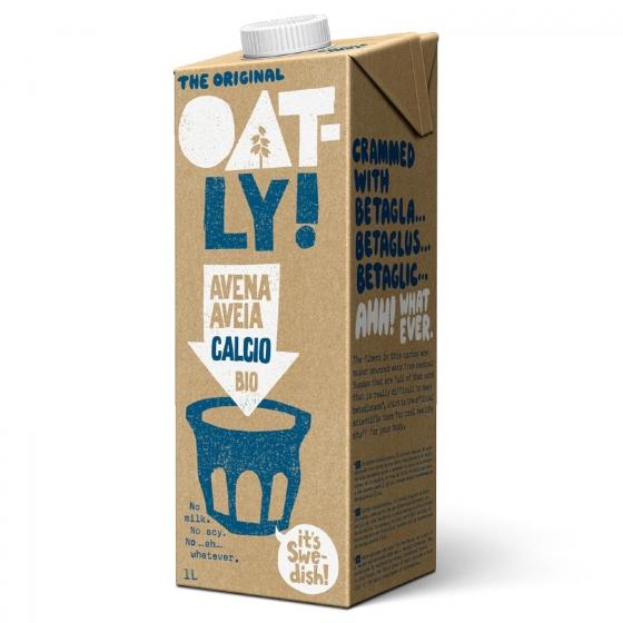 Bebida de avena con calcio ecológica Oatly 1 l.