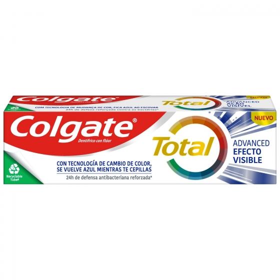 Dentífrico acción visible 12h de protección completa Colgate Total  75 ml.  - 6