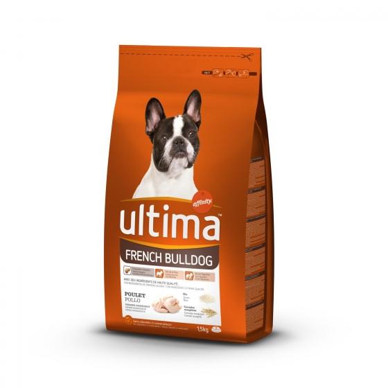 Pienso de pollo y arroz para perro Buldog Francés Ultima 1,5 Kg. - 1