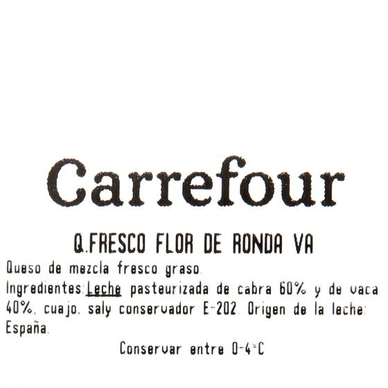 Queso fresco de cabra graso Flor de Ronda al corte 200 g aprox - 3