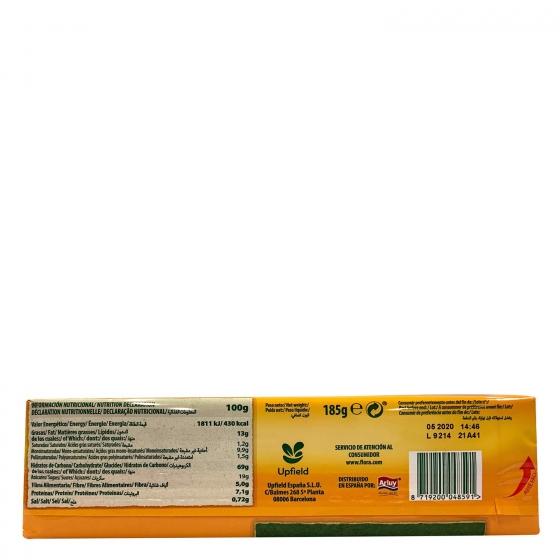 Galletas de fibra Flora 185 g. - 1