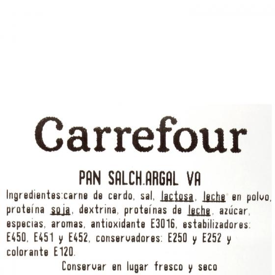 Pan de salchichón Regio Oro Argal al corte 200 g aprox - 3