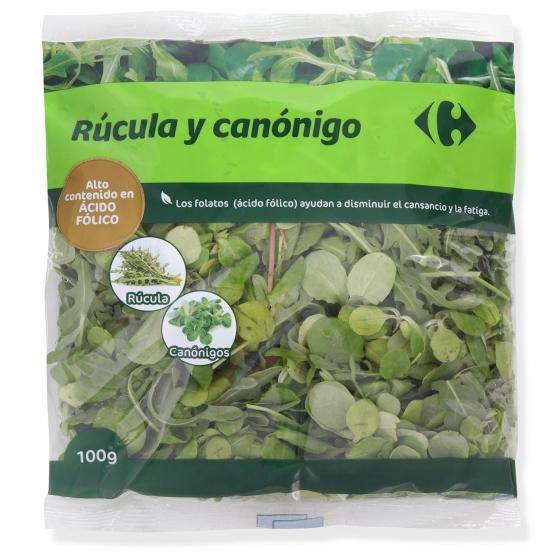 Canónigo + rúcula Carrefour bolsa 100 g - 1