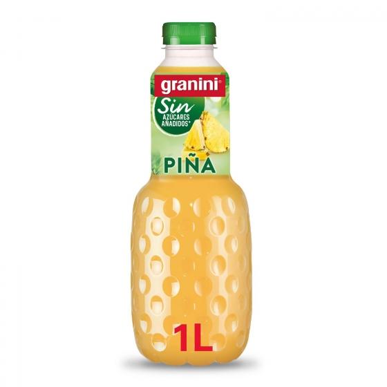 Néctar de piña Granini light sin azúcar añadido botella 1 l.