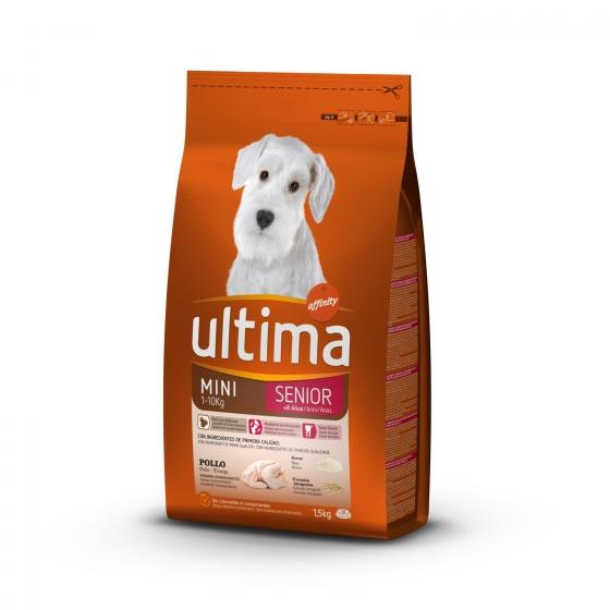 Pienso de pollo para perro adulto Mini Ultima 1,5 Kg. - 1