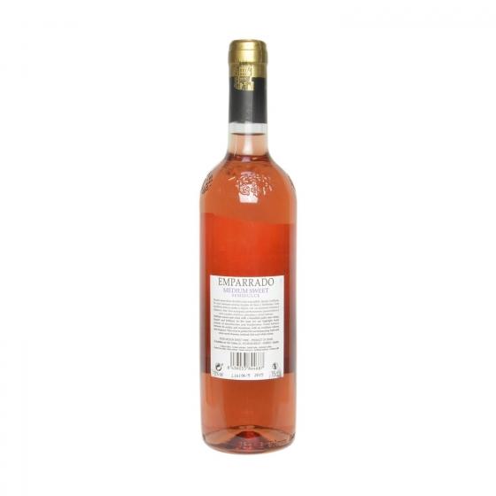 Vino rosado tempranillo semidulce Emparrado botella 75 cl. - 1