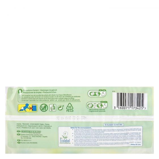 Pañales soft&eco-friendly ecologicos Carrefour Baby T5 (11kg.-25kg.) 24 ud. - 4
