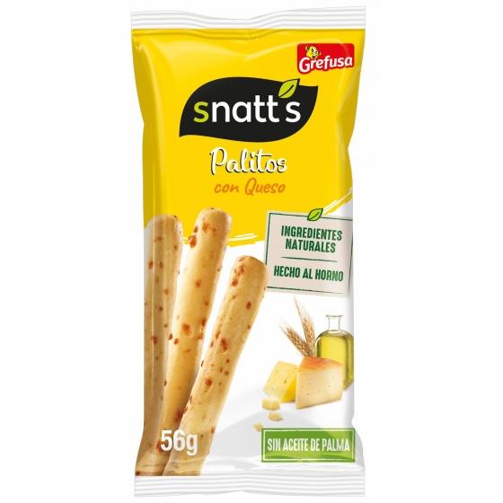 Palitos de queso Grefusa Snatt's 56 g.