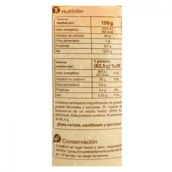 Arroz redondo categoría extra Carrefour 1 kg. - 1