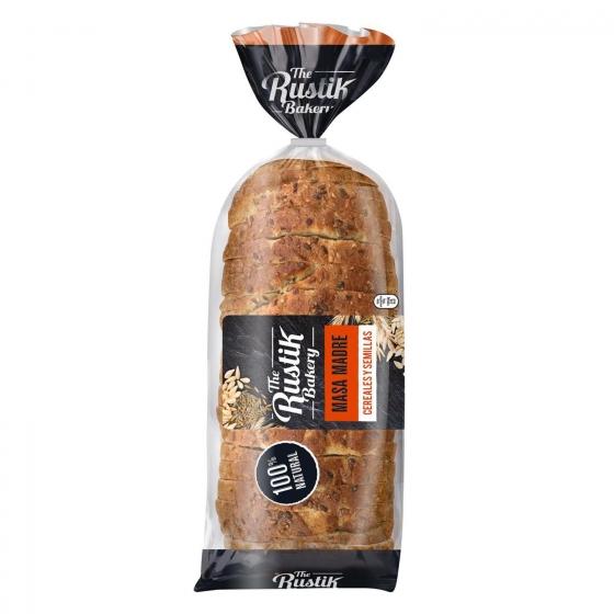 Pan de cereales y semillas The Rustik Bakery 400 g.