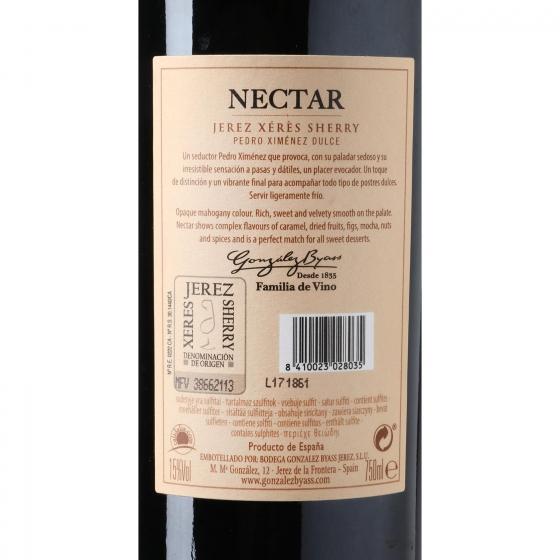 Vino D.O. Jerez cream Nectar 75 cl. - 3