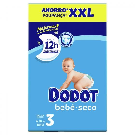 Pañales Dodot XXL Talla 3 (6-10 kg) 192 uds - 4