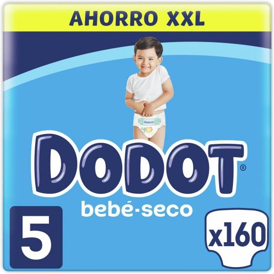 Pañales Dodot T5 (11kg-16kg.) 168 ud.
