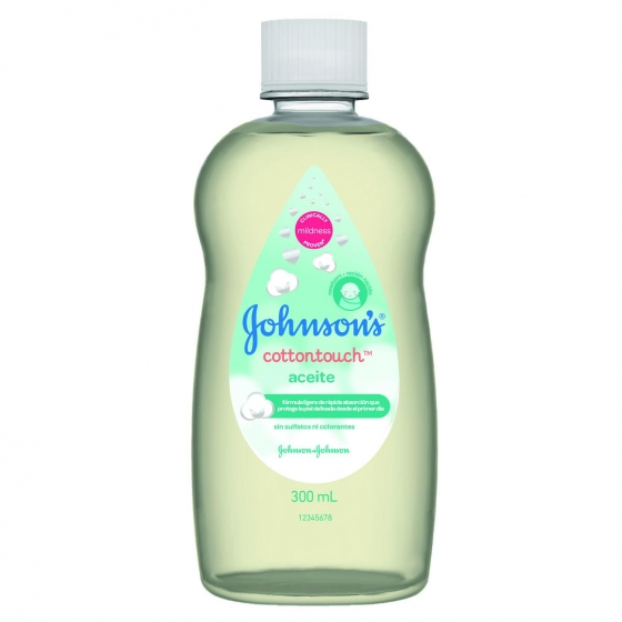 Aceite cotton touch Johnson's 300 ml. - 1
