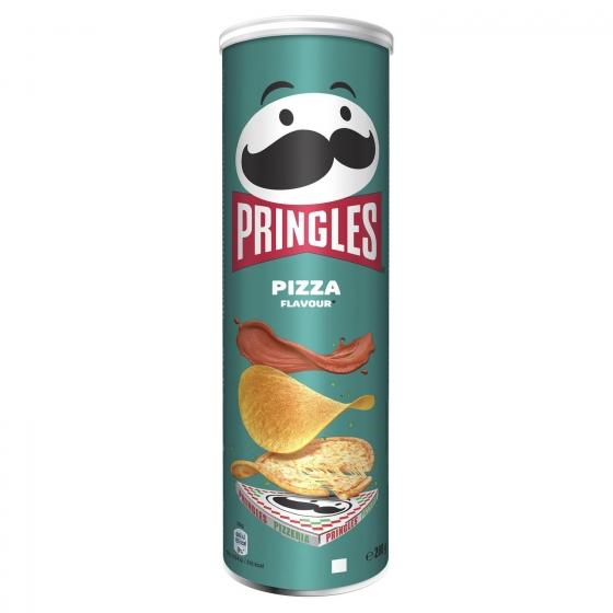 Aperitivo de patata sabor pizza Pringles 200 g.
