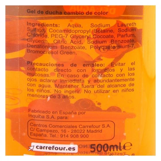 Gel de ducha Mágico Kids Carrefour 500 ml. - 1