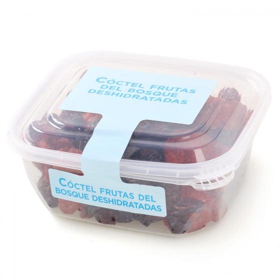 Coctel frutas del bosque deshidratadas Carrefour tarrina 200 g (arandanos, cereza y fresa) - 1