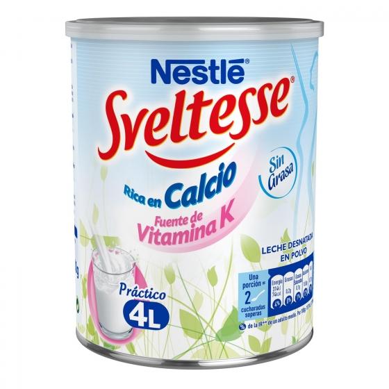 Leche en polvo desnatada Nestlé - Sveltesse 400 g. - 3