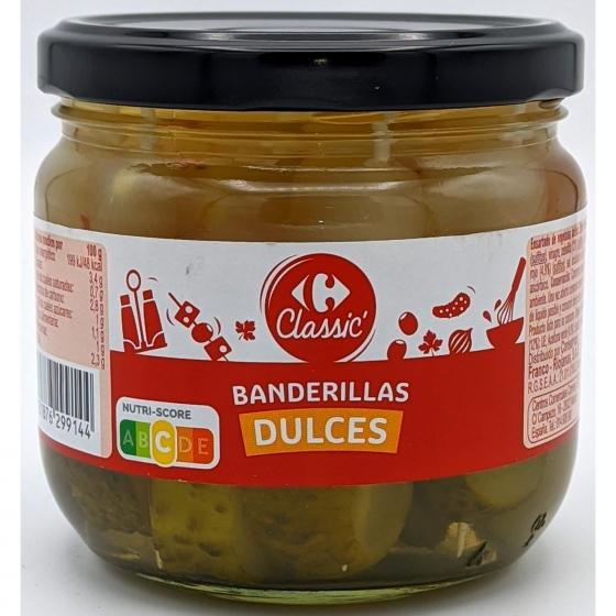 Banderillas suaves Carrefour 160 g. - 1