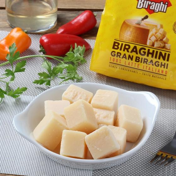Tacos de queso curado Gran Biraghi Hispano Italiana 250 g - 1
