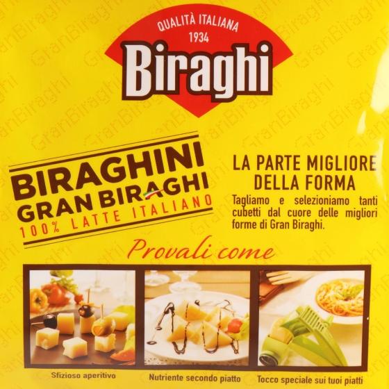 Tacos de queso curado Gran Biraghi Hispano Italiana 250 g - 3