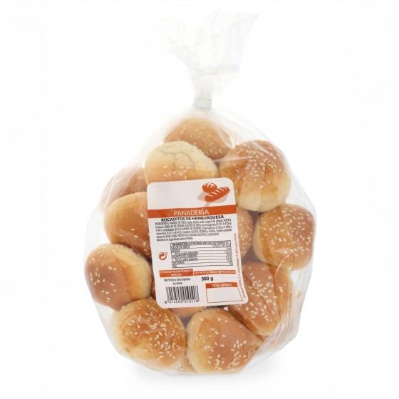 Bocaditos de pan de hamburguesas 300 g