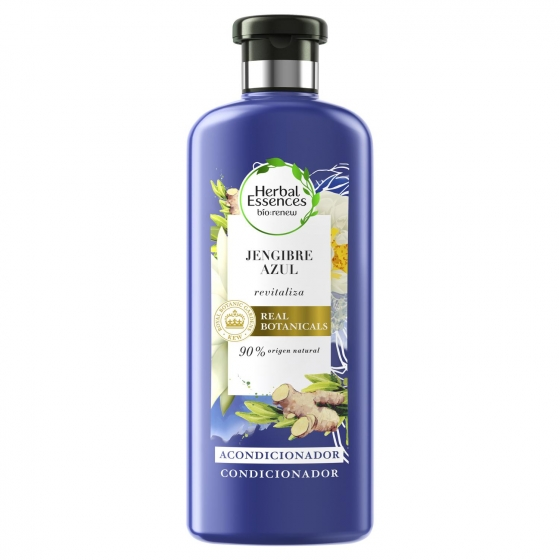 Acondicionador revitaliza jengibre azul Herbal Essence 400 ml.