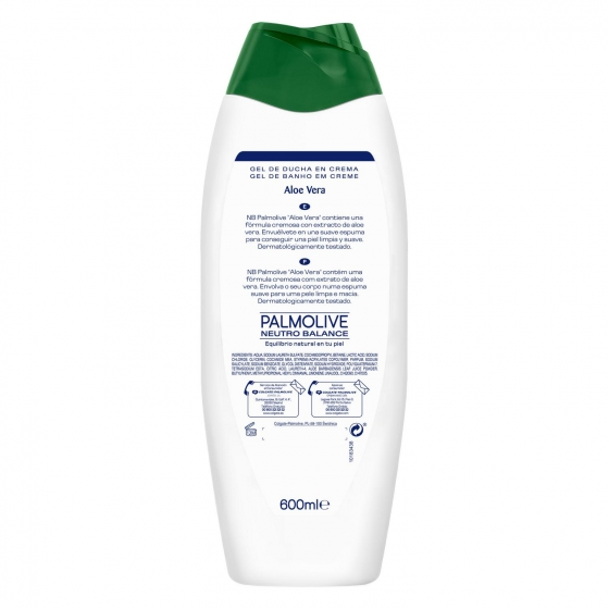Gel de ducha aloe vera NB Palmolive 600 ml. - 1