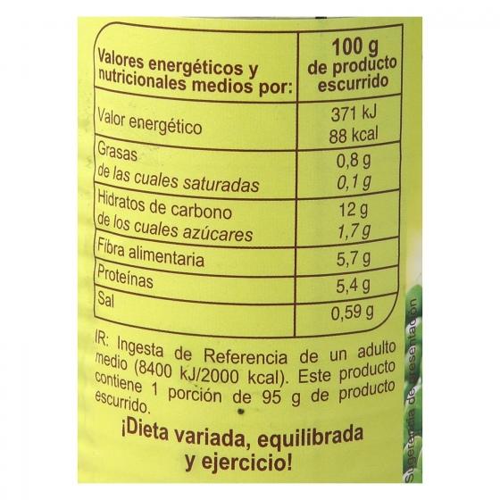 Guisantes muy finos al natural Carrefour Pack de 2 unidades de 95 g. - 3
