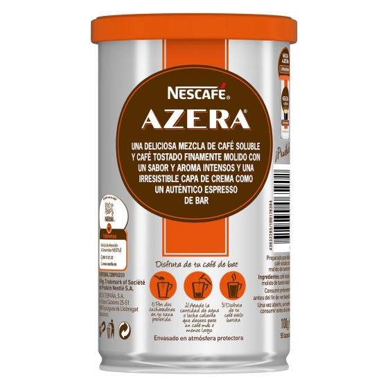 Café soluble natural espresso intenso Azera Nescafé 100 g. - 3